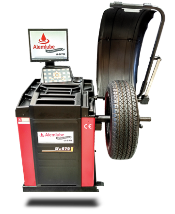Alemlube Automotive Wheel Balancer