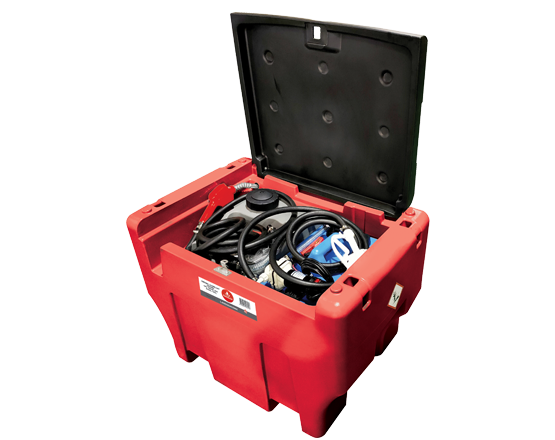 Lockable Diesel/AdBlue® Storage & Dispensing Kit